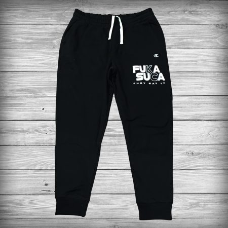 Breaded Enterprise Fucka Sucka Sweatpants Black
